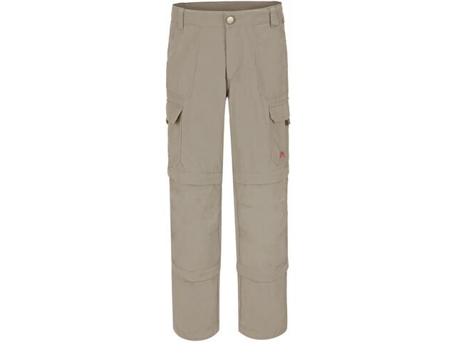 Maier Sports Trizip Reg Spodnie Dzieci, feather grey
